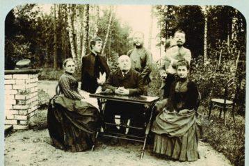 Семейство Б.А. Нейдгартав своем имении