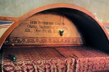 Гробница святителя Симона в Успенском соборе г. Владимира