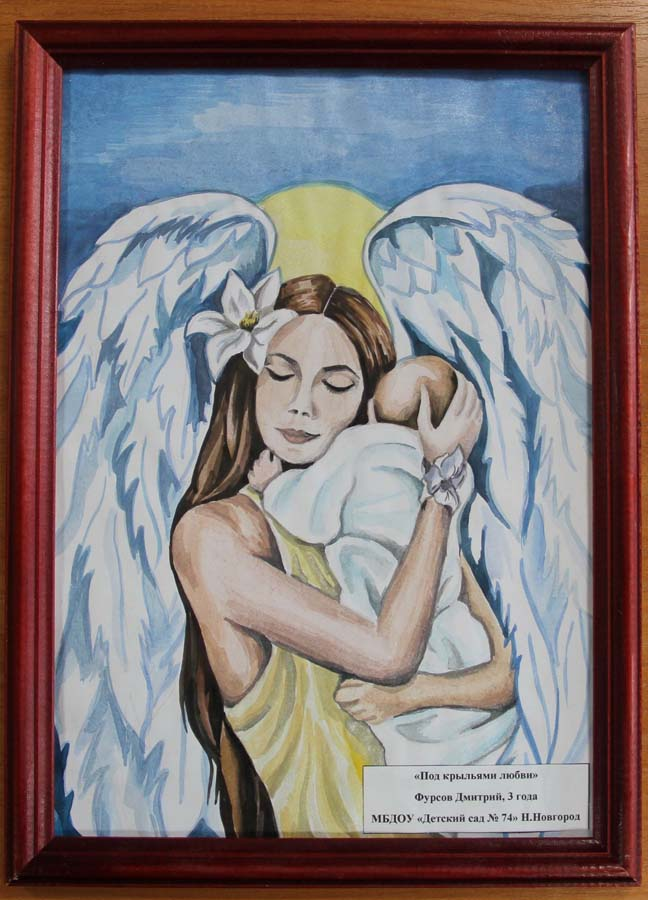 Мама ангел на земле картинки карандашом