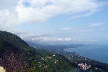 Новый Афон. Вид с Иверской горы