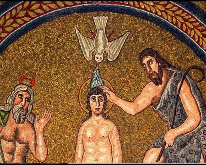 Красный угол. Иконография Крещения Господня