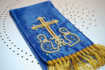 Е.В. Ткачук, О.В. Собянина. Покровцы и закладка на Евангелие