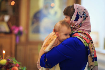 «Радость первого таинства» Автор: Светлана Репницкая, 29 лет