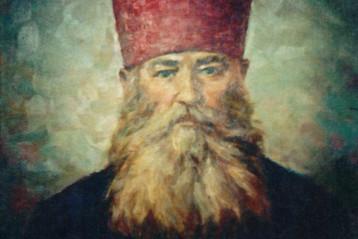 Портрет протоиерея Андрея Синицина. Последняя работа художника