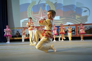 19 февраля. На праздновании Дня защитника Отечества в Сормовском районе (фото Марины Смирновой)