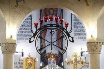 1 марта. В храме в честь святого великомученика и целителя Пантелеимона (фото Приокского благочиния)