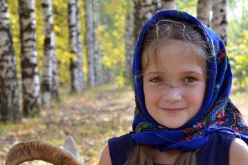 «Ай, коза, моя коза!..». Автор Елизавета Сакеева, 9 лет. II место