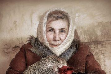 «Бабушка». Автор Арсений Чернигин, 13 лет. Поощрение