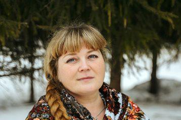«Есть женщины в русских селениях…». Автор Марина Никитина, 41 год. I место