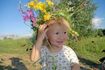 «Маленькое солнышко». Автор Светлана Горохова, 50 лет. III место