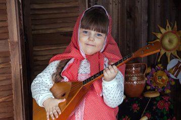 «Масленица». Автор Анна Симакова, 7 лет. III место