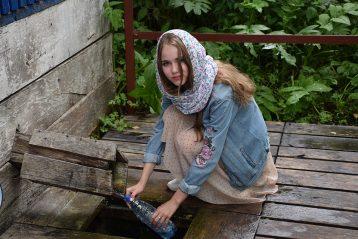 «Поездка по святым местам». Автор Лилия Найкина, 8 лет. Поощрение