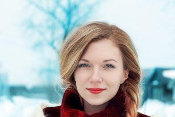 «Зимняя красавица». Автор Екатерина Саламайкина, 33 года. II место