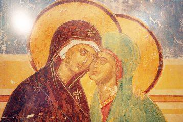 Целование Божией Матери и праведной Елисаветы
