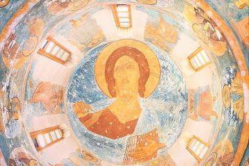Пантократор (с греч. Вседержитель), купол собора Рождества Пресвятой Богородицы
