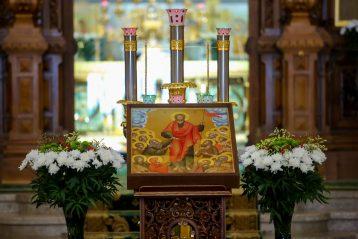 14 июля. В Александро-Невском кафедральном соборе Нижнего Новгорода (фото Александра Чурбанова)
