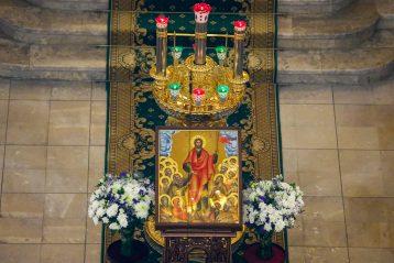 22 сентября. В Александро-Невском кафедральном соборе (фото Александра Чурбанова)