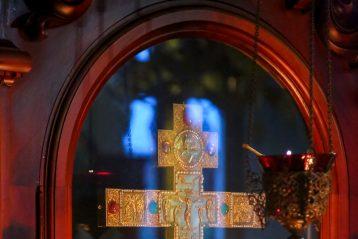 26 сентября. В Крестовоздвиженском монастыре Нижнего Новгорода (фото Александра Чурбанова)