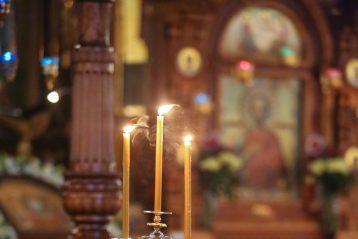 27 авгута. В Александро-Невском кафедральном соборе Нижнего Новгорода (фото Александра Чурбанова)