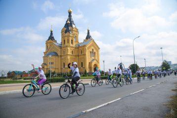 8 августа. Старт велопробега «Дорога к храму» (фото Александра Чурбанова)