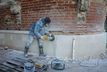 17 октября. Работы по реставрации церкви в честь Смоленской иконы Божией Матери (фото Александра Чурбанова)