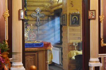 3 октября. В Княже-Михайловском приходе поселка Петряевка (фото Воскресенского благочиния Нижегородской епархии)