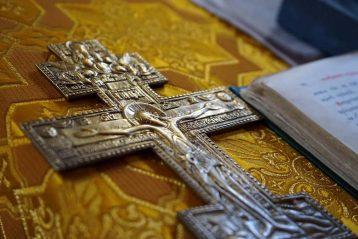 2 ноября. В храме в честь иконы Божией Матери «Утоли моя печали» (фото телекомпании «Луч»)