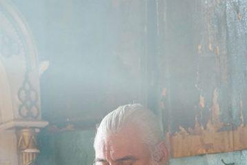 6 ноября. Во время Божественной литургии в храме в честь иконы Божией Матери «Всех скорбящих Радость» села Новые Ключищи Кстовского района (фото телекомпании «Луч»)