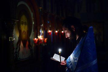 7 декабря. В нижегородском Елисаветинском храме (фото Бориса Поварова)
