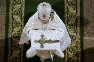 6 января. В Никольском соборе Нижнего Новгорода (фото Александра Чурбанова)