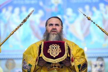 2 февраля. Во время Божественной литургии в Александро-Невском кафедральном соборе (фото Александра Чурбанова)