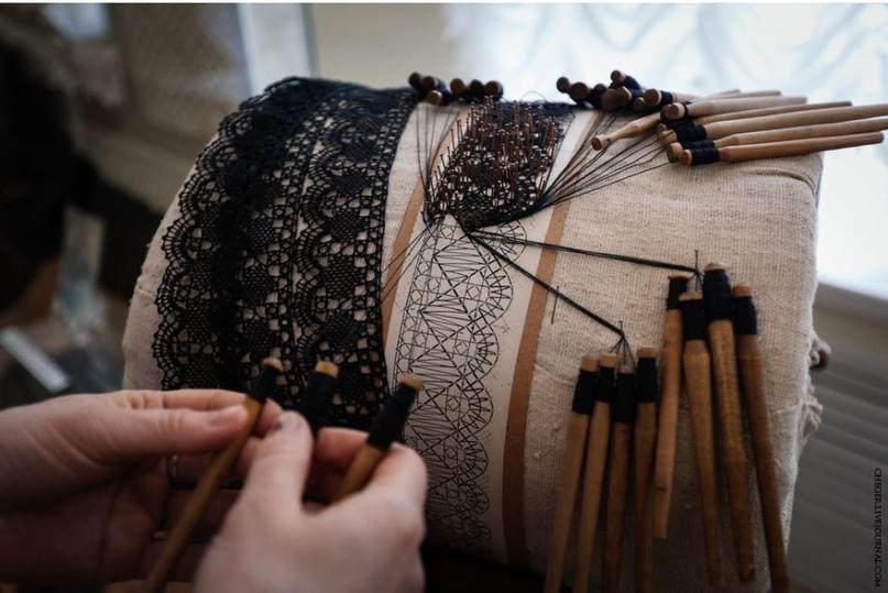 В глубь веков. Экспозиция кружева в музее истории художественных промыслов Нижегородской области.