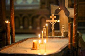 10 апреля. В Александро-Невском кафедральном соборе (фото Александра Чурбанова)
