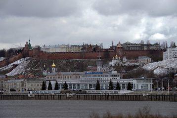 2 апреля. Вид с реки (фото Алексея Козориза)