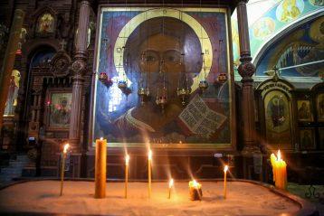 3 апреля. В Александро-Невском кафедральном соборе Нижнего Новгорода (фото Александра Чурбанова)