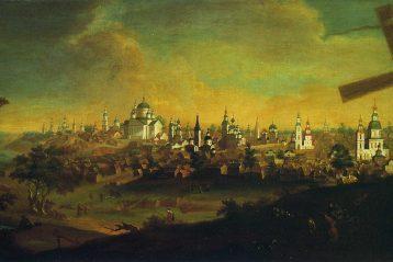 А.В. Ступин «Вид города Арзамаса». 1826