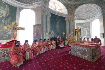 Алтарь Воскресенского кафедрального собора города Арзамаса. Фото Алексея Козориза