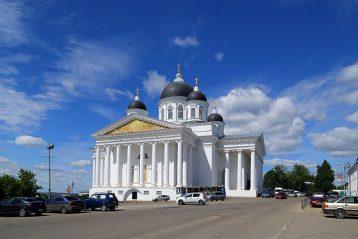 Кафедральный собор в честь Воскресения Христова г. Арзамаса. Фото Сергея Лотырева