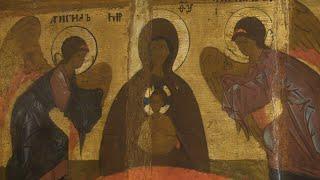 В глубь веков. Экспозиция иконописи в Нижегородском художественном музее.