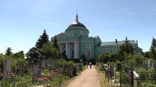 Божий дом. Освящение Сергиевского храма в селе Выездное Нижегородской области.