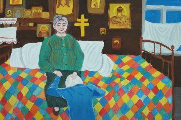 «Помоги Матронушка». Автор: Юлия Рузова, 11 лет. I место