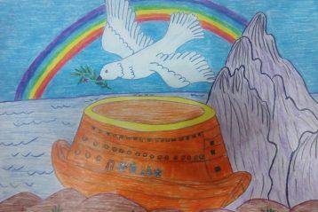 «Ноев ковчег». Автор: Александр Шульпёнков, 10 лет. II место