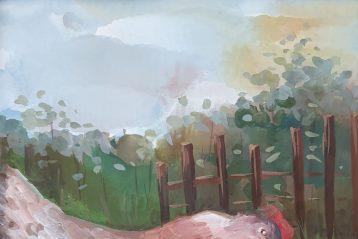 «Загадочная полянка». Автор: Алена Киселева, 15 лет. II место