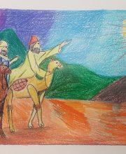 «Путь волхвов». Автор: Владимир Тихонов, 10 лет. II место