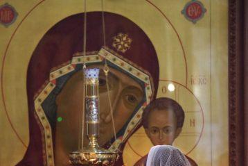 21 июня. В Александро-Невском кафедральном соборе Нижнего Новгорода (фото Алексея Козориза)
