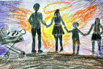 «Божий свет». Автор: Диана Холджигитова, 12 лет. Поощрение