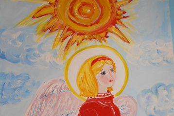 «Ангел». Автор: Даша Шуляченко, 10 лет. Поощрение