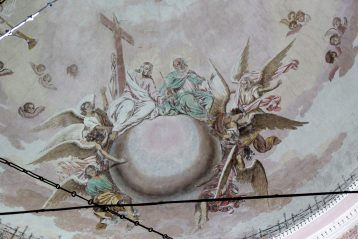 10 августа. Росписи в Смоленской церкви поселка Выездное (фото Николая Начаркина)