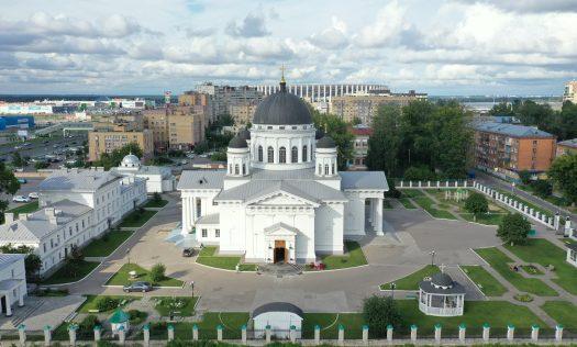 13 августа. Спасский Староярмарочный собор (фото Александра Фролова)