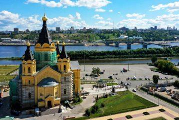 22 августа. Александро-Невский кафедральный собор Нижнего Новгород (фото Александра Фролова)